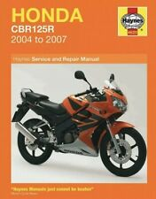 Haynes Honda CBR125R 2004 -2007 Motorcycle Service Repair Owners Manual Workshop