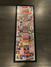 SUPREME Door Poster Friends & Family Lafayette Store New Authentic Box Logo
