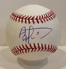 Albert Almora Signed Baseball Autographed Mounted Memories COA Chicago Cubs