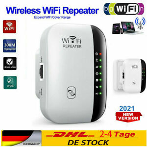 300Mbps WLAN Wifi Repeater Router Range Signal Verstärker Access Point Booster