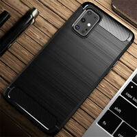 For Samsung Galaxy S20 Ultra S10 S9 Brushed Silicone Soft Rubber Slim Cover Case