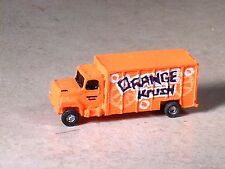 N Scale 1996 Orange Ford Beverage Delivery Orange Krush Truck