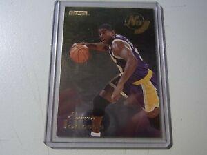 "Earvin ""Magic"" Johnson Lakers 1996-97 Skybox No Boundaries #4 Los Angeles Lakers"