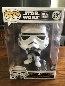 "Funko Pop! Star Wars - Stormtrooper #391 - 10"" (2020 Galactic Convention Ed)"