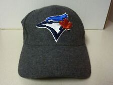TORONTO BLUE JAYS - TD Bank - Grey Wool - Baseball Hat / Cap - Made By BDA