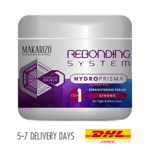 [MAKARIZO] Rebonding System HydroPrisma Straightening Hair Cream Strong 500g