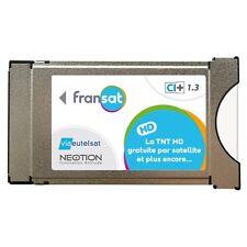 Module PCMCIA. BIS TV FRANSAT NEOTION. CAM CI+ TV HD UHD 4K VIACCESS SANS CARTE.