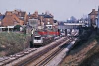 PHOTO  VIEW TOWARDS NEWBURY RAILWAY STATION  MARCH 1974