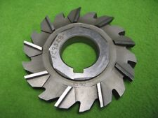 Staggered Side Milling Cutter 18T 3-29/32 x 1/2 x 1-1/4