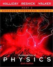 Fundamentals of Physics: Sixth Edition- Enhanced Problems Version Part 3