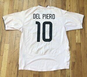 Juventus Del Piero Nike Jersey Pink Rare 2003 Size L