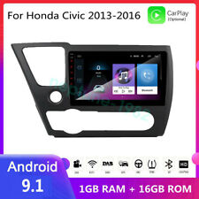 "Android 9.1 10.2"" For Honda Civic 2013-2016 GPS Navigation Car DVD Radio Player"