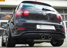 FOX Duplex Sportauspuff R32 Design VW Golf 5 V 2x90 1,4-2,0FSI 1,9TDI 2,0TDI/SDI