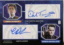 Doctor Who 2015 Dual Autograph Card David Tennant & Gareth David Lloyd