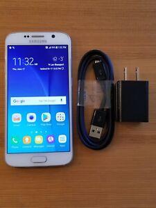 Samsung Galaxy S6 - SM-G920W8 - 32GB - White - GSM UNLOCKED - (item#992)