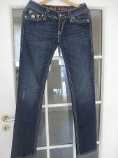 Jeans Rock Revival blue denim 29/34 Damen straight leg
