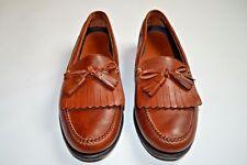 Neil M. Murphy Men's Size 9.5B Leather Tassel Brown Loafer Shoes 9 1/2 Ret $225