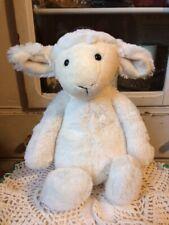 """Jellycat Bashful Lamb White Cream Sheep Plush 12"""""""