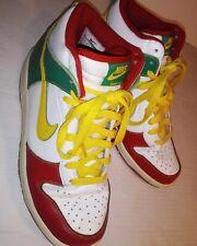 Nike Dunk 6.0 Rasta (517562-173) High Top Sneakers Men Size 7.5