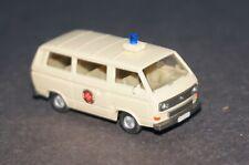 RF33/W3] WIKING 13 320 VW Bus T 3 Johanniter Unfall Hilfe Einsatzwagen