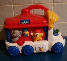 Chicco Vintage Circus Bus Light & Sons activity toy camion