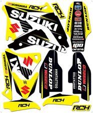 NEW SUZUKI RCH TEAM GRAPHIC KIT RM125 RM250 2001-2004