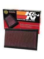 33-2273 K&N Replacement Air Filter JAGUAR S-TYPE 3.0L-V6 & 4.0L-V8; 2003 (KN Pan