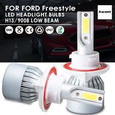 H13 Hi//Lo Beam Headlight, White Alla Lighting 2pcs Super Bright LED Light Bulbs replacement for 2009~2014 Ford F150//2011~16 F250 F350 F450 F550//2011~17 F-250 F-350 F-450 F-550 Super Duty