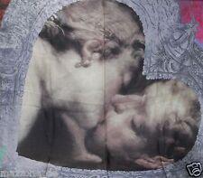 ☆ VIVIENNE WESTWOOD Schal, Tuch, Stola, scarf 90x90 KISS Geschenkbox LP 249€