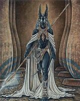 ANUBIS - CROSS STITCH CHART - Count 14, Religious/ Cultural and patterns