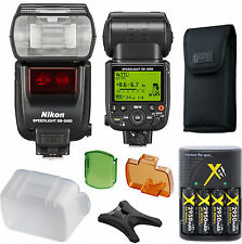 Nikon SB-5000 Speedlight Flash (IMPORT) Accessory Kit D5200 D3200 D90 D7100 D800
