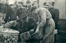 1940 WWII Fresh Vegetables For British Navy Sailors Press Photo