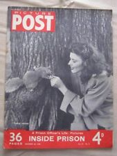 PICTURE POST - 20 NOV 1948 - THE LIFE OF A PRISION OFFICER