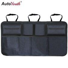 Car Trunk Organizer Adjustable Backseat Storage Bag Net High Capacity Multi-use