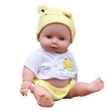 Reborn Baby Doll Soft Vinyl Silicone Lifelike Newborn Kids Toddler Girl Gift Toy