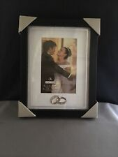 "Maldens Wedding Black Frame With Glass 4"" x 6"" With Mat"