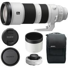 Sony FE 200-600mm f/5.6-6.3 G OSS Lens with FE 1.4x Teleconverter