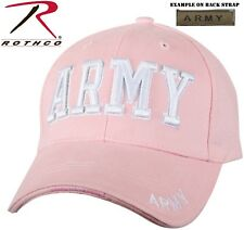 Army Pink Deluxe Embroidered Hat Low Profile Insignia Cap 9485 Rothco 105c60b2455c