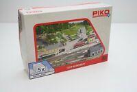 Piko 61923 Bahnhofs-Set 5-teilig in H0 Bausatz Fabrikneu