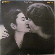 JOHN LENNON/YOKO ONO Double Fantasy UK 14 Track LP A4 B4 Matrix