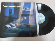 LP OST James Horner - Batteries Not Included (8 Song) MCA / UNIVERSAL cut out