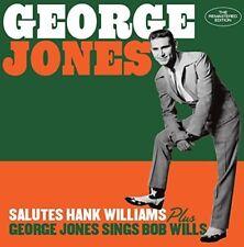 George Jones - Salutes Hank Williams / George Jones Sings Bob Wills [New CD] Bon