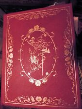 ALICE IN WONDERLAND Franklin Library DELUXE LEATHER LIMITED EDITION