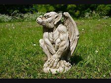 STANDING GARGOYLE Detailed Statue Stone Cast Handmade Garden Ornament Garden