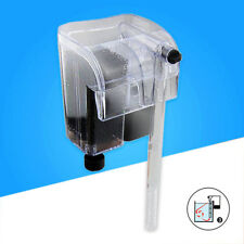 External Aquarium Hang On Waterfall Filter Fish Tank Shrimp Marine Filtration