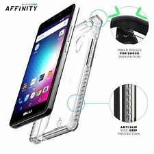 Affinity Series Premium Thin Slim fit Protective Bumper Case for BLU R1 HD Clear