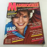 VTG Mademoiselle Magazine: January 1982 - Terry Farrell Cover No Label/Newsstand