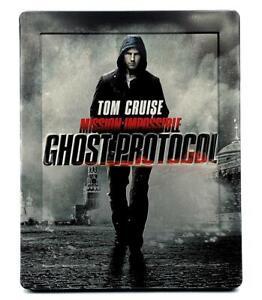 Mission Impossible: Ghost Protocol Steelbook (Blu-ray + DVD + Digital) Region B