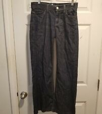 7 For All Mankind Women's Size 26 Dark Wash Ginger