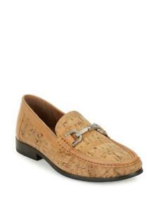 Donald J Pliner Men's Natural Cork Slip On Loafers Shoes Size 10 M